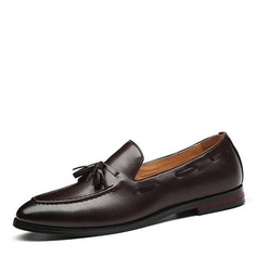 Men's Leatherette Tassel Loafer Casual Men's Loafers (260187375)