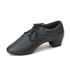 Kids' Leatherette Heels Pumps Latin Dance Shoes