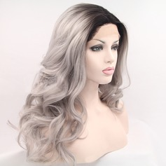 Wavy Synthetic Hair Lace Front Wigs 380g
