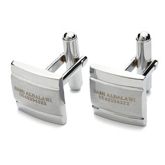 Personalized Zinc Alloy Cufflinks