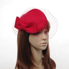 Ladies' Beautiful With Tulle Beret Hats