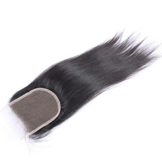 """4""""*4"""" 6A Straight Human Hair Closure (Sold in a single piece)"""