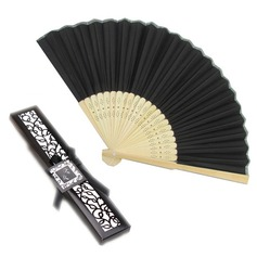 Debutante Ball Silk Hand Fans Ladies Night Out Essentials