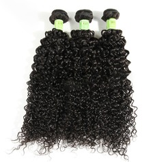4A Non remy Kinky Curly Human Hair Human Hair Weave (Sold in a single piece) 100g