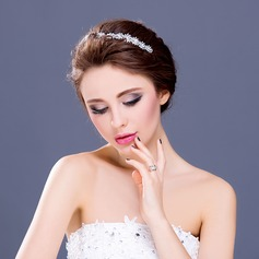 "Gorgeous Crystal/Rhinestone/Alloy/""A"" Level Rhinestone Headbands"