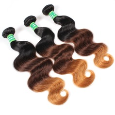 5A Virgen/Remy Onda del cuerpo Longitud media Largo Cabello humano Tejido de pelo / trama Extensiones (Sold in a single piece) 100g (219131092)