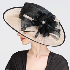 Ladies' Beautiful Spring/Summer Cambric With Bowler/Cloche Hat (196076051)