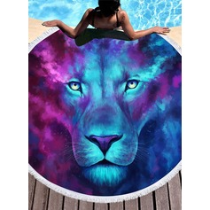 lion Oversized/round Beach towel (204165318)