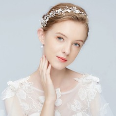 Glamourous Alloy Headbands With Rhinestone/Venetian Pearl/Crystal (Sold in single piece)