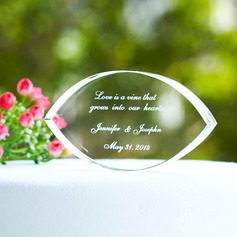 Personalized Crystal Cake Topper