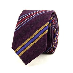 Stripe Cotton Tie
