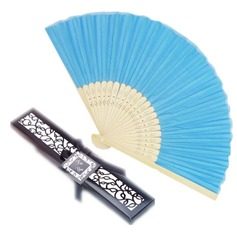 """Fantasy Time"" Bamboo Hand fan"