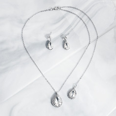 Ladies' Elegant Zircon Jewelry Sets For Bride/For Bridesmaid/For Mother/For Friends/For Couple (011220127)