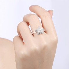 Beautiful Alloy Rhinestones With Rhinestone Women's Fashion Rings