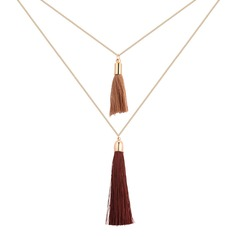 Fashional Copper Silk Ladies' Fashion Necklace