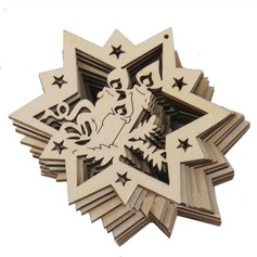 Creative Gifts Wooden Gifts (Set of 10)