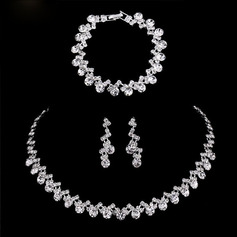 Ladies' Stylish Alloy/Rhinestones Jewelry Sets