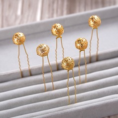 Gorgeous Gold Plated Hairpins(Set of 5)