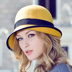 Ladies' Beautiful Wool Bowler/Cloche Hats