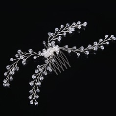 Ladies Lovely Crystal/Alloy/Imitation Pearls Combs & Barrettes