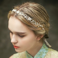 Gorgeous Crystal/Imitation Pearls Headbands