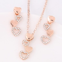 Fashional Alloy Rhinestones Ladies' Jewelry Sets