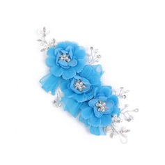 Shiny Venetian Pearl/Artificial Silk/Imitation Pearl Headdress Flower -