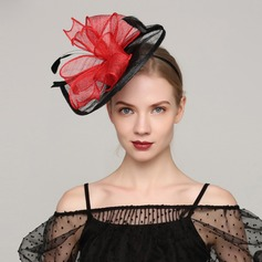 Ladies' Elegant Cambric/Feather With Feather Fascinators/Kentucky Derby Hats