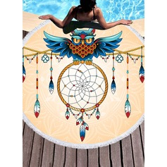Dreamcatcher round/attractive Beach towel