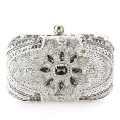 Unique Crystal/ Rhinestone/Imitation Pearl Clutches/Bridal Purse/Minaudiere