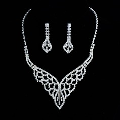 Beautiful Rhinestones Ladies' Jewelry Sets