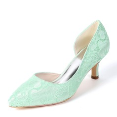 Women's Silk Like Satin Stiletto Heel Pumps