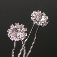 Lovely Rhinestone/Alloy Hairpins (Set of 3)