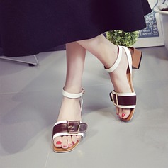 PU Chunky Heel shoes