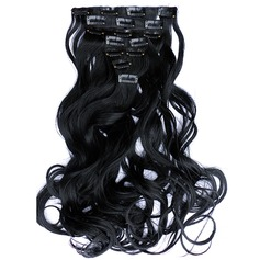 Loose Synthetic Hair Clip in Hair Extensions 7pcs 130g
