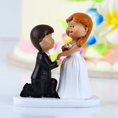 """Marry Me"" Resin Wedding Cake Topper"