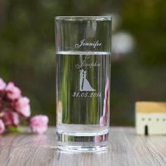 Personalized Bride And Groom Glass Cup