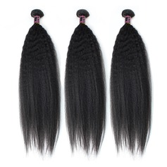3A Non remy Straight Mid-Length Long Human Hair Hair Weaves/Weft Hair Extensions (Sold in a single piece) 100g