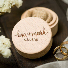 Simple/Classic/Personalized Wood Ring Box