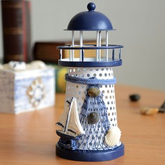 Metal Lighthouse Candle Holder Home decoration