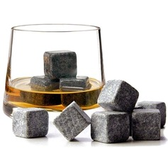 Groomsmen Gifts - Modern Stone Whisky Stone (set Of 9)