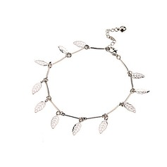 Leaves Shaped Alloy Women's Bracelets