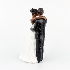 Dancing Couple Resin Cake Topper