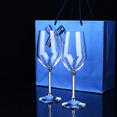 Personalized Simple Design Toasting Flutes (Set Of 2)