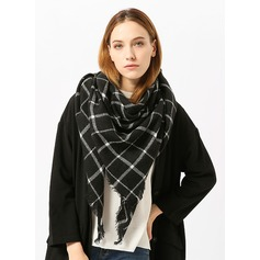 Retro/Vintage Oversized/simple Artificial Wool Scarf