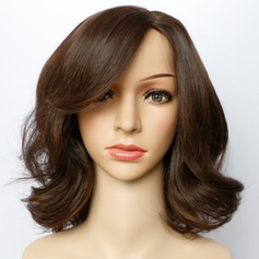 Curly Mid-Length Synthetic Wigs
