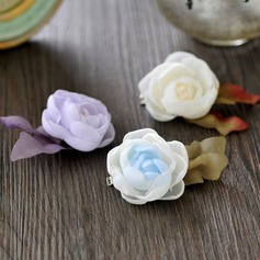 Ladies/Kids Lovely Silk Flower Hairpins