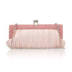 Elegant/Gorgeous/Charming/Shining/Refined/Pretty PU/Imitation Silk Clutches/Evening Bags