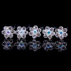 Beautiful Alloy/Rhinestones Ladies' Hair Jewelry