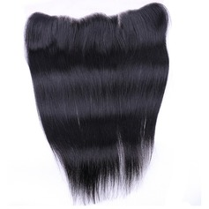 "13""*4"" 5A Straight Human Hair Closure (Sold in a single piece)"